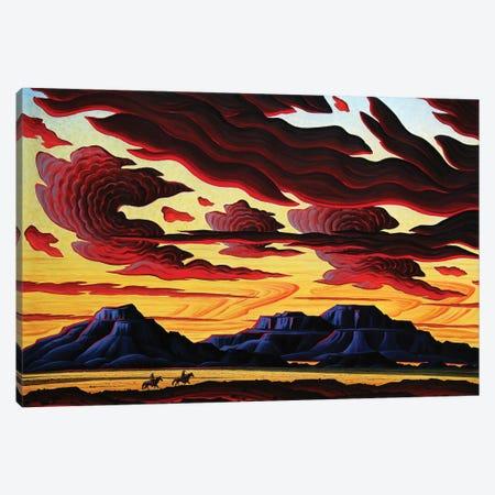 The Searchers Canvas Print #KWG8} by Kim Douglas Wiggins Canvas Art