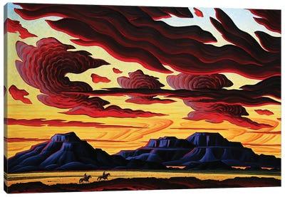 The Searchers Canvas Art Print