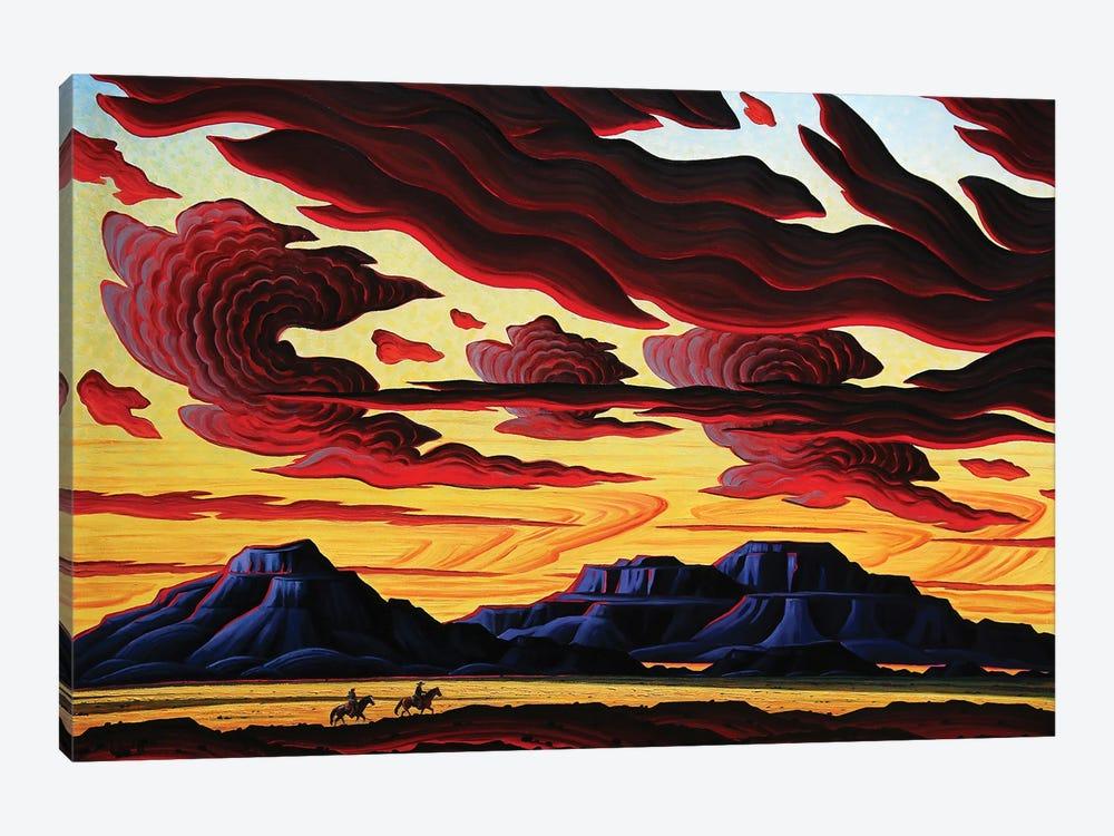 The Searchers by Kim Douglas Wiggins 1-piece Canvas Print