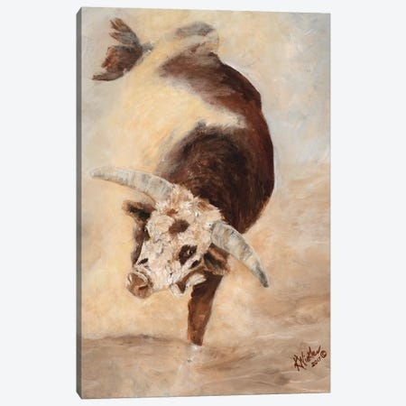 Shake Rattle & Roll II Canvas Print #KWI10} by Kathy Winkler Canvas Art
