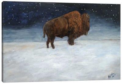 Journey Through the Snow I Canvas Art Print