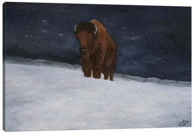 Journey Through the Snow II Canvas Art Print