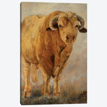 Tuff Enuff I 3-Piece Canvas #KWI24} by Kathy Winkler Canvas Art
