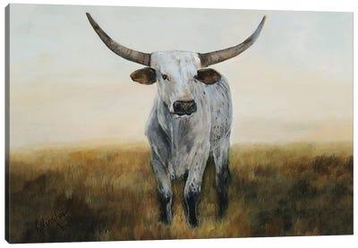 Knight in White Satin I Canvas Art Print