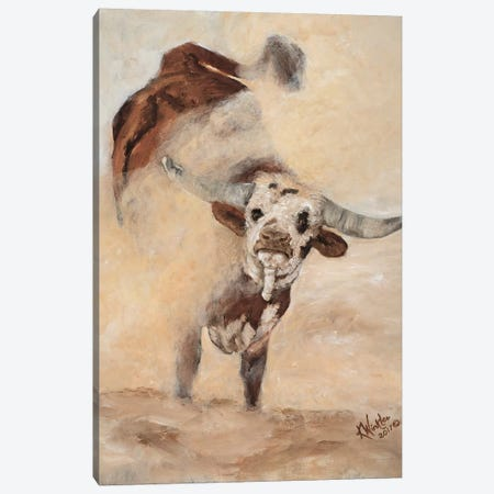 Shake Rattle & Roll I Canvas Print #KWI9} by Kathy Winkler Canvas Art