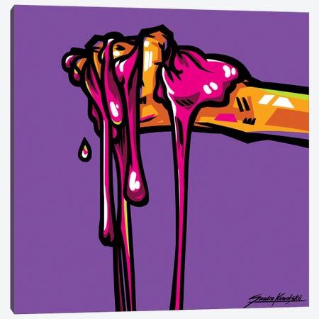Gum Canvas Print #KWL14} by Sandra Kowalskii Canvas Wall Art