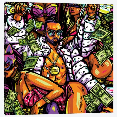 Billionaire Canvas Print #KWL1} by Sandra Kowalskii Canvas Print