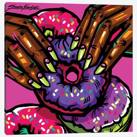 Donuts Canvas Print #KWL31} by Sandra Kowalskii Canvas Art Print