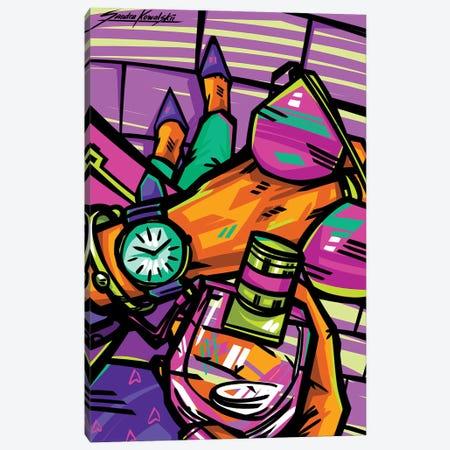 My Pleasure Canvas Print #KWL3} by Sandra Kowalskii Art Print