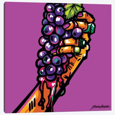 Vinegrape Canvas Print #KWL43} by Sandra Kowalskii Canvas Art