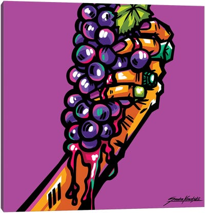 Vinegrape Canvas Art Print