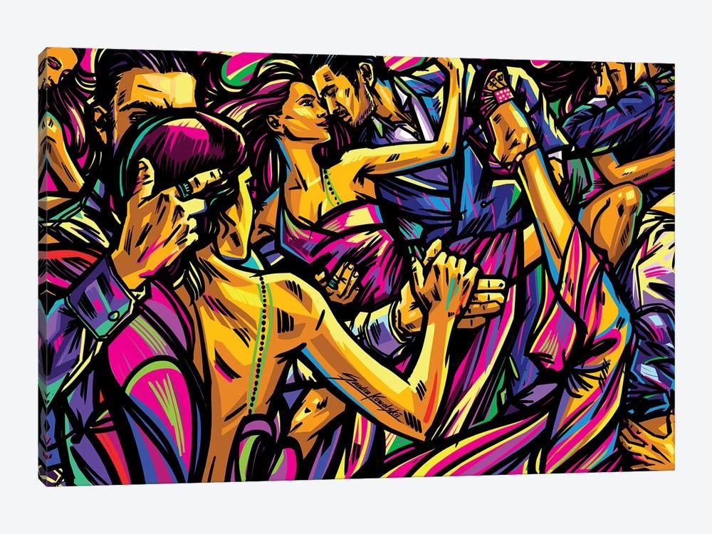 Tango by Sandra Kowalskii 1-piece Canvas Art Print