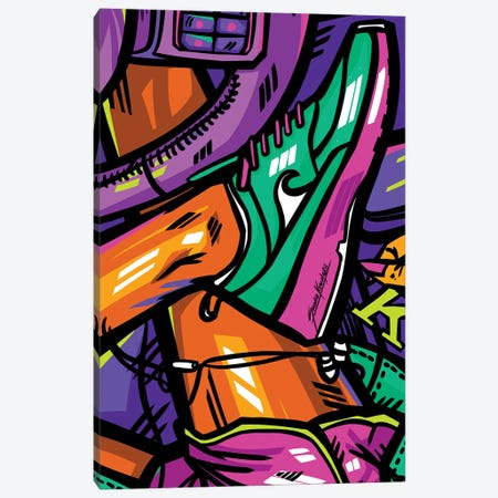 Nike Canvas Print #KWL9} by Sandra Kowalskii Art Print