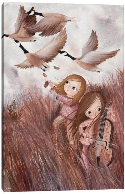 Music Of The Fields Canvas Art Print