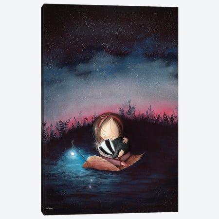 Dreaming Canvas Print #KWN12} by KWNart Canvas Print