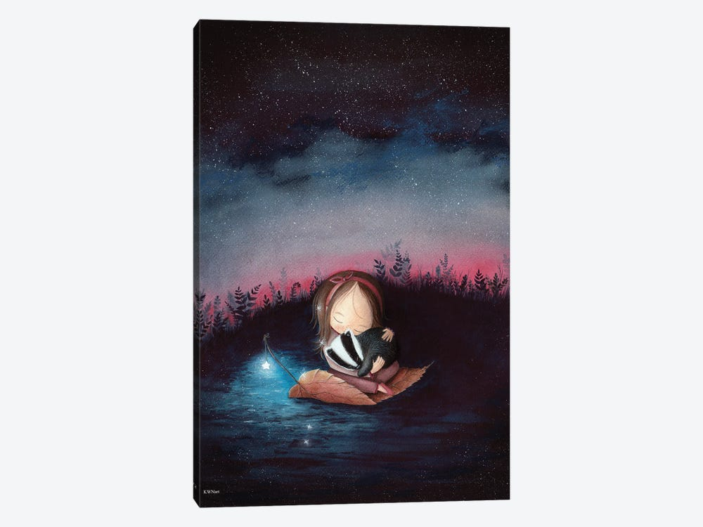 Dreaming by KWNart 1-piece Canvas Wall Art