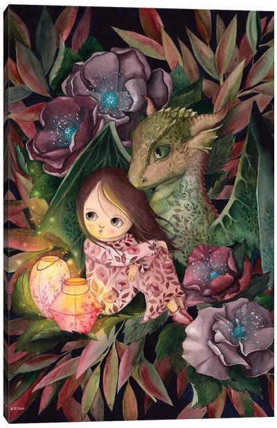 Dragon Friend Canvas Art Print