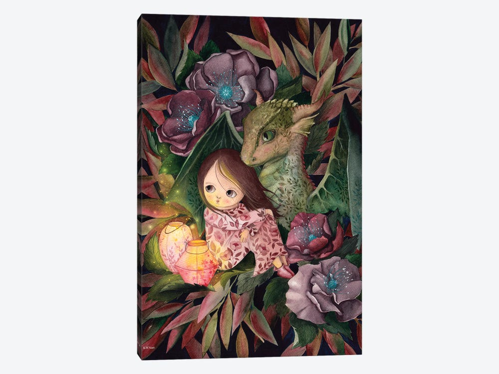 Dragon Friend by KWNart 1-piece Art Print