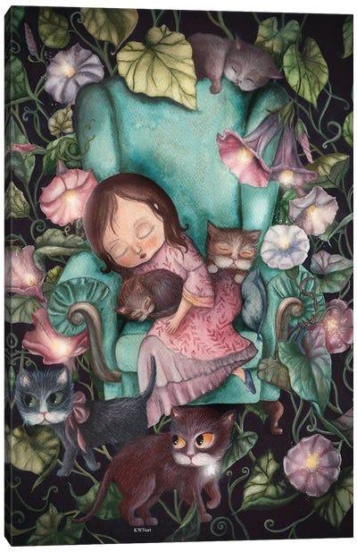 A Little Dreamer Canvas Art Print