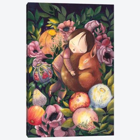 My Sweet Friend Canvas Print #KWN19} by KWNart Canvas Art Print