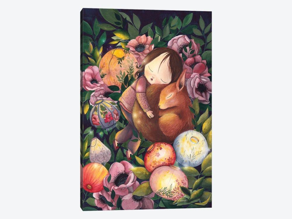 My Sweet Friend by KWNart 1-piece Canvas Art Print