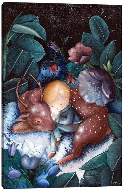 The Magic Of Friendship Canvas Art Print