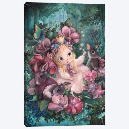 Enchanted Garden Canvas Print #KWN20} by KWNart Canvas Art