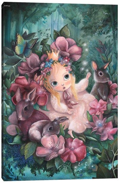 Enchanted Garden Canvas Art Print