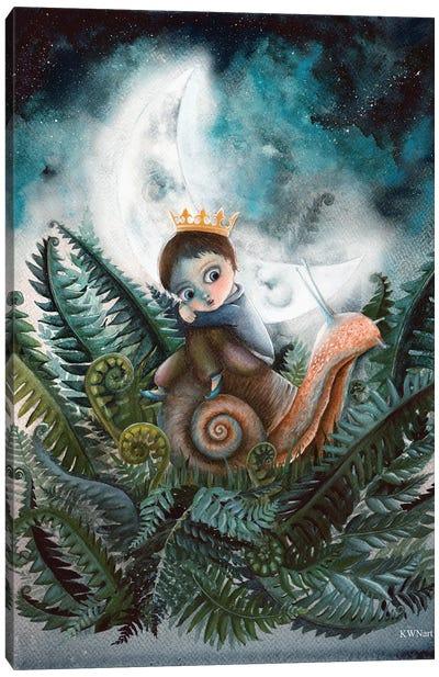 Moon Creatures Canvas Art Print