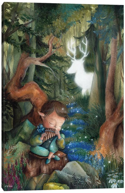 Forest Fairytale Canvas Art Print