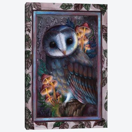 Owl Canvas Print #KWN6} by KWNart Canvas Art