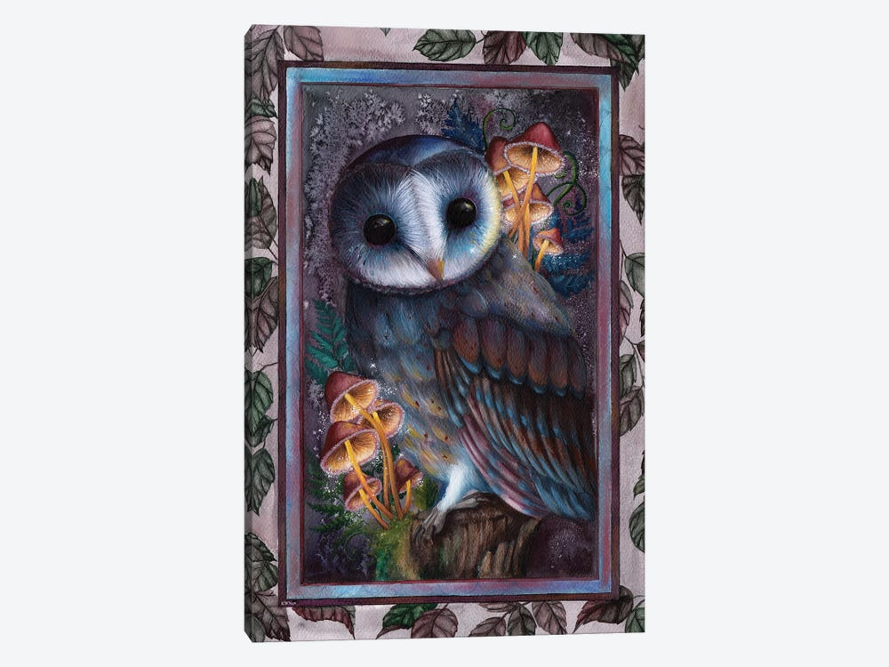 Owl by KWNart 1-piece Canvas Wall Art