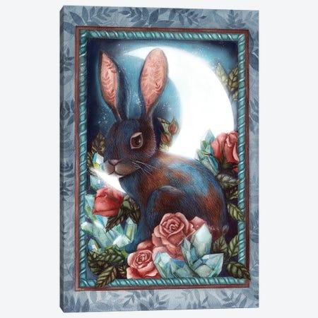 Rabbit Canvas Print #KWN7} by KWNart Canvas Art