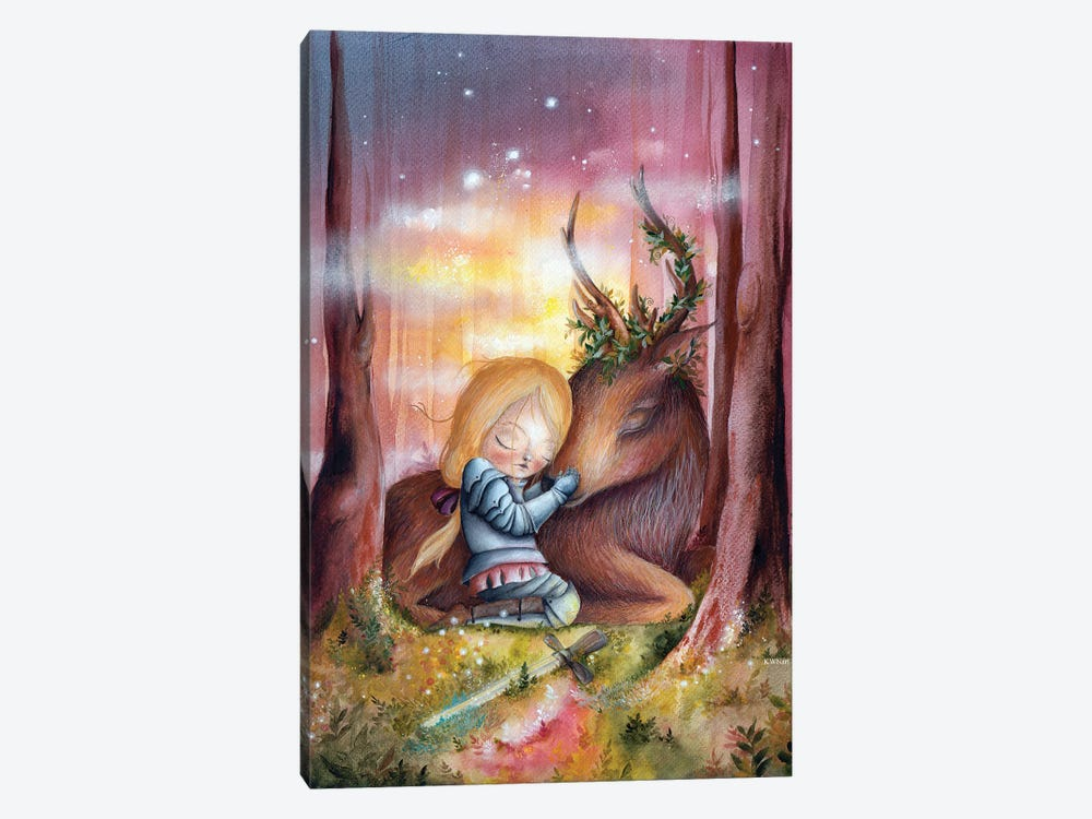 Enchanted Forest by KWNart 1-piece Art Print