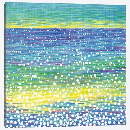 Seascape XII Canvas Print #KWO102} by Kirstin Wood Art Print