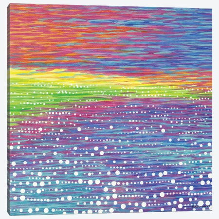 Seascape IX Canvas Print #KWO103} by Kirstin Wood Art Print