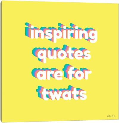 Inspiring Quotes Canvas Art Print
