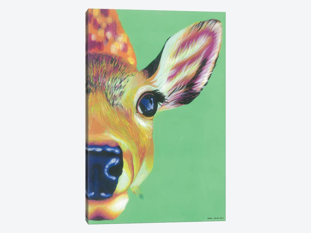 Hello Deer by Kirstin Wood 1-piece Canvas Art Print