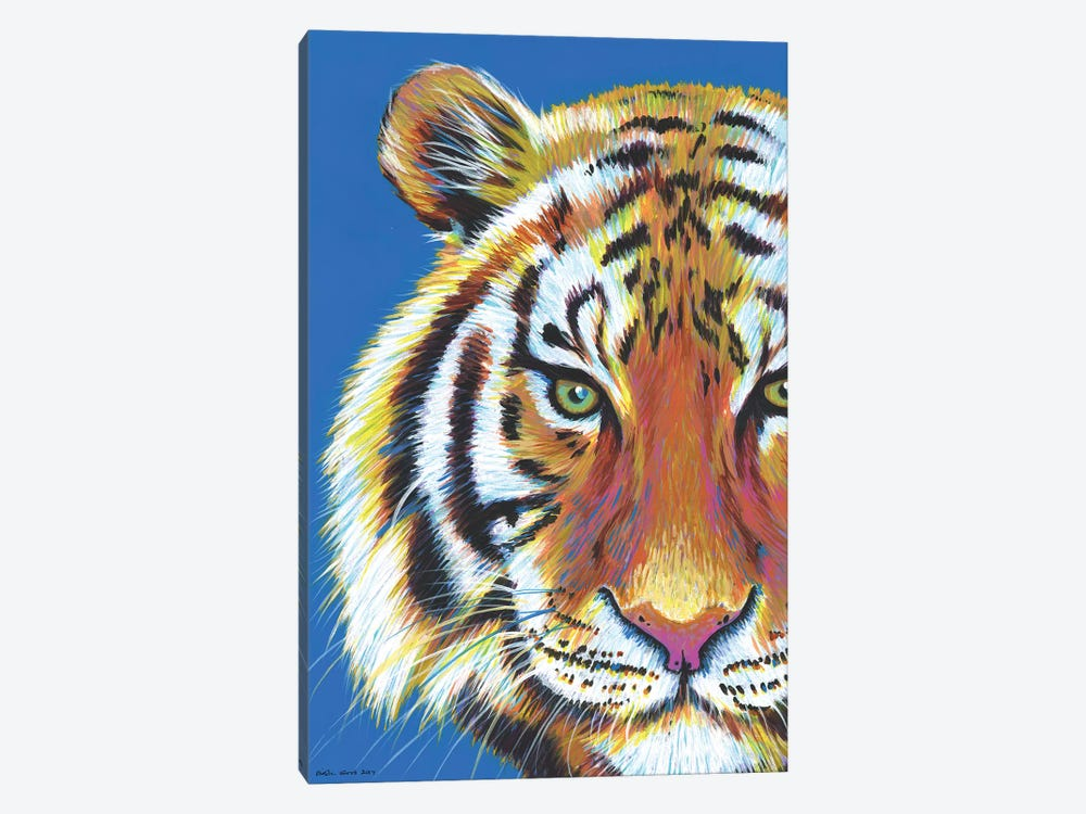 Tiger Tiger by Kirstin Wood 1-piece Art Print