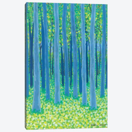 Into The Woods Canvas Print #KWO82} by Kirstin Wood Canvas Art Print