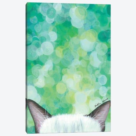 Siamese Cat Canvas Print #KWO87} by Kirstin Wood Canvas Artwork