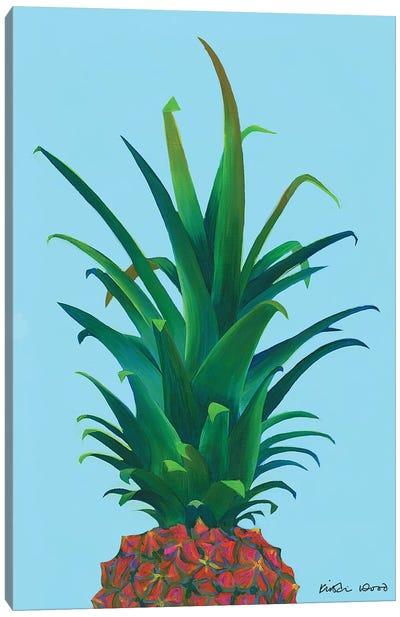 Spiky Pineapple Canvas Art Print
