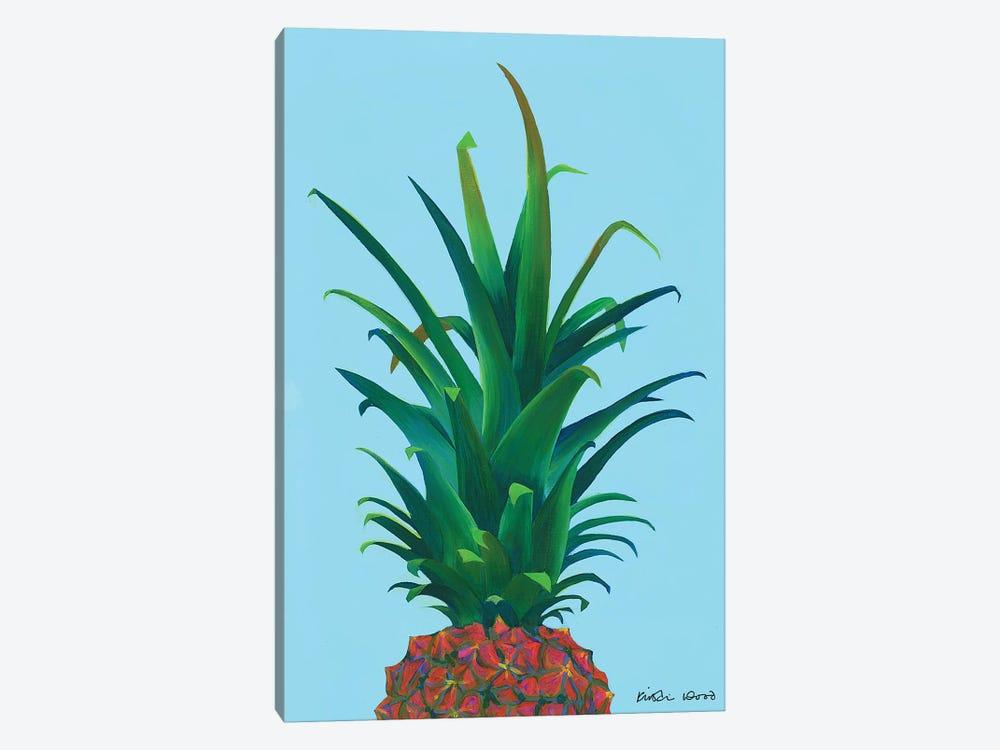 Spiky Pineapple by Kirstin Wood 1-piece Canvas Art Print