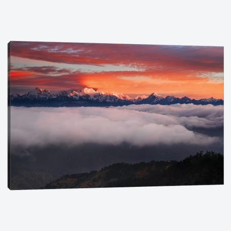 The Mountain Gods 3-Piece Canvas #KWR2} by Karsten Wrobel Canvas Artwork