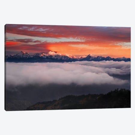 The Mountain Gods Canvas Print #KWR2} by Karsten Wrobel Canvas Artwork