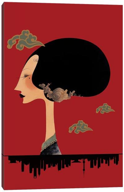 La Fleur de Shanghai Canvas Art Print