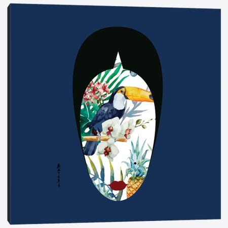 Lady LaModa IV Canvas Print #KXU5} by Kim Xu Art Print