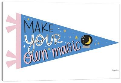 Make Your Own Magic Pennant Canvas Art Print