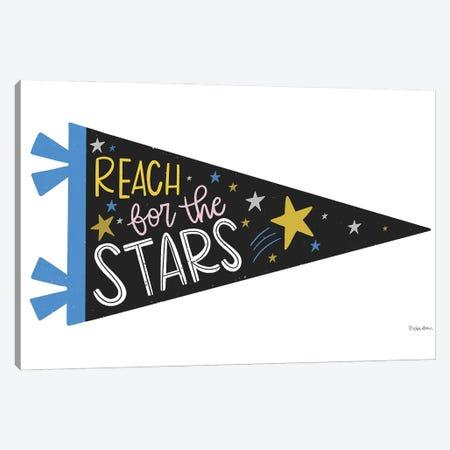 Reach for the Stars Pennant Canvas Print #KYB3} by Kyra Brown Canvas Art Print