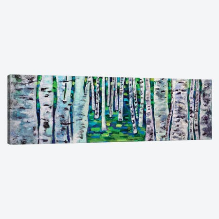 Making My Way Canvas Print #KYG18} by Kyungsoo Lee Art Print